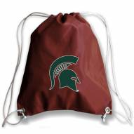 Michigan State Spartans Football Drawstring Bag