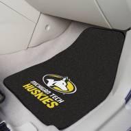 Michigan Tech Huskies 2-Piece Carpet Car Mats