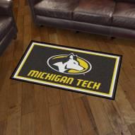 Michigan Tech Huskies 3' x 5' Area Rug