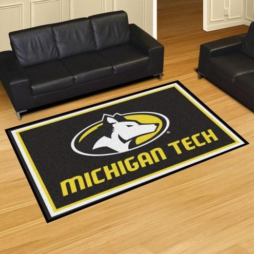 Michigan Tech Huskies 5' x 8' Area Rug