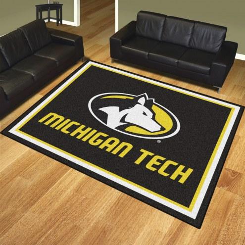 Michigan Tech Huskies 8' x 10' Area Rug