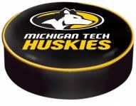 Michigan Tech Huskies Bar Stool Seat Cover