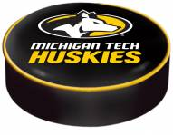 Michigan Tech Huskies Bar Stool Seat Cover