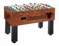 Michigan Tech Huskies Foosball Table