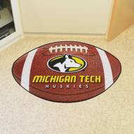 Michigan Tech Huskies Football Floor Mat