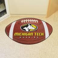 Michigan Tech Huskies Football Floor Mat