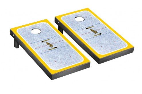 Michigan Tech Huskies Ice Hockey Cornhole Game Set