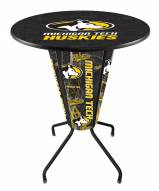 Michigan Tech Huskies Indoor Lighted Pub Table