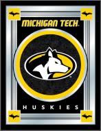 Michigan Tech Huskies Logo Mirror