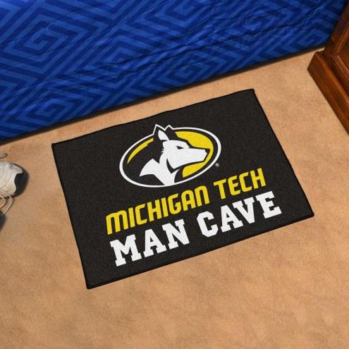 Michigan Tech Huskies Man Cave Starter Mat