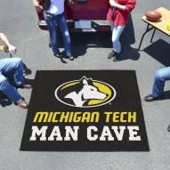 Michigan Tech Huskies Man Cave Tailgate Mat