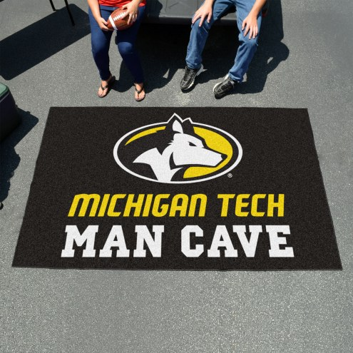 Michigan Tech Huskies Man Cave Ulti-Mat Rug