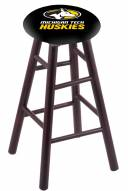 Michigan Tech Huskies Maple Wood Bar Stool
