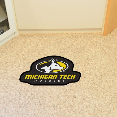 Michigan Tech Huskies Mascot Mat