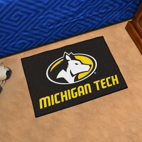 Michigan Tech Huskies Starter Rug