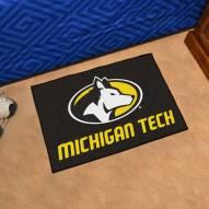 Michigan Tech Huskies Starter Rug