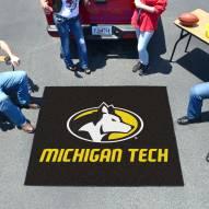 Michigan Tech Huskies Tailgate Mat