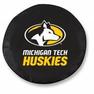 Michigan Tech Huskies Tire Cover