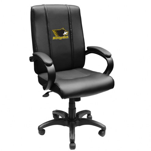 Michigan Tech Huskies XZipit Office Chair 1000