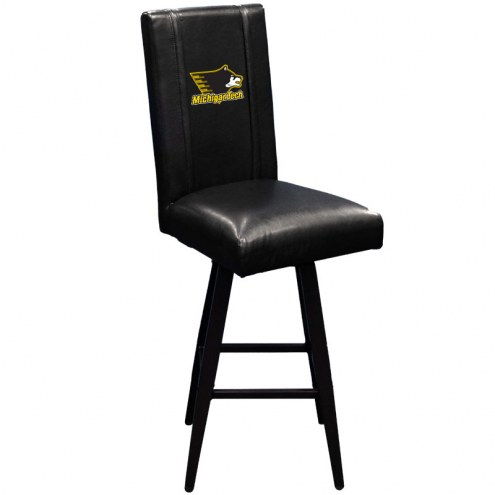 Michigan Tech Huskies XZipit Swivel Bar Stool 2000