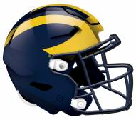 "Michigan Wolverines 12"" Helmet Sign"