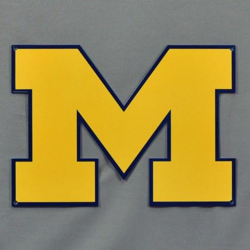 "Michigan Wolverines 12"" Steel Logo Sign"