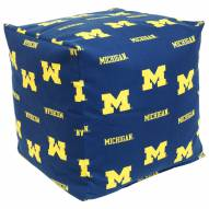 "Michigan Wolverines 18"" x 18"" Cube Cushion"