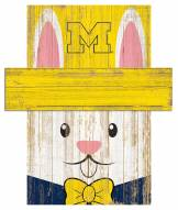 "Michigan Wolverines 19"" x 16"" Easter Bunny Head"