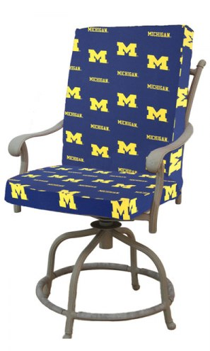 Michigan Wolverines 2 Piece Chair Cushion
