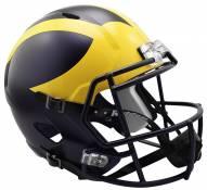 Michigan Wolverines Riddell Speed Collectible Football Helmet