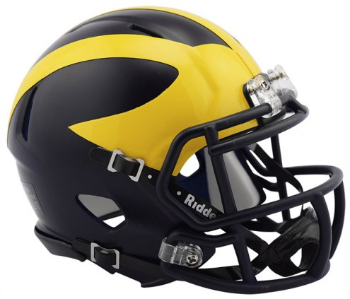 Michigan Wolverines Riddell Speed Mini Collectible Football Helmet