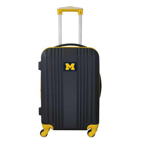 """Michigan Wolverines 21"""" Hardcase Luggage Carry-on Spinner"""