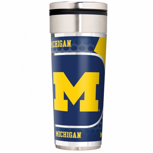 Michigan Wolverines 22 oz. Hi Def Travel Tumbler