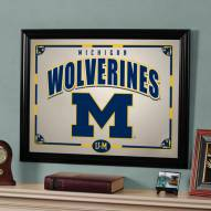 "Michigan Wolverines 23"" x 18"" Mirror"