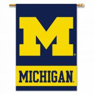 """Michigan Wolverines 28"""" x 40"""" Two-Sided Banner"""
