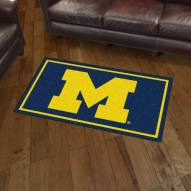 Michigan Wolverines 3' x 5' Area Rug