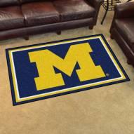 Michigan Wolverines 4' x 6' Area Rug