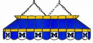"""Michigan Wolverines 40"""" Stained Glass Pool Table Light"""