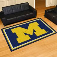 Michigan Wolverines 5' x 8' Area Rug