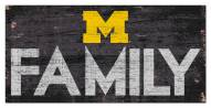"Michigan Wolverines 6"" x 12"" Family Sign"