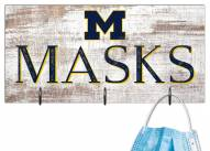 "Michigan Wolverines 6"" x 12"" Mask Holder"