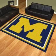 Michigan Wolverines 8' x 10' Area Rug
