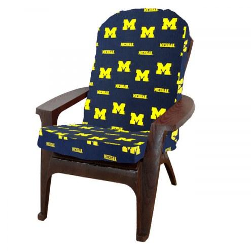 Michigan Wolverines Adirondack Chair Cushion
