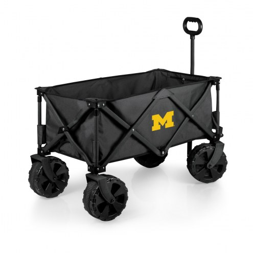 Michigan Wolverines Adventure Wagon with All-Terrain Wheels