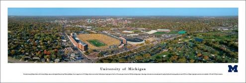 Michigan Wolverines Aerial Unframed Panorama