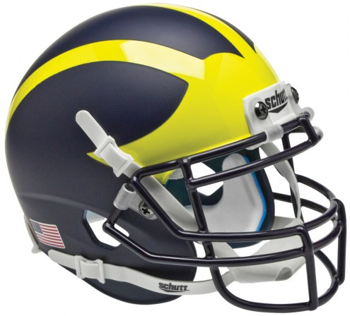 Michigan Wolverines Alternate 1 Schutt XP Collectible Full Size Football Helmet