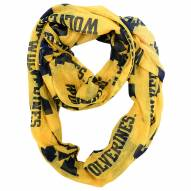 Michigan Wolverines Alternate Sheer Infinity Scarf
