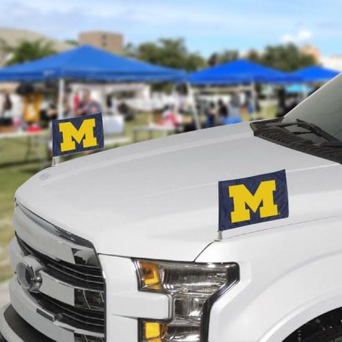 Michigan Wolverines Ambassador Car Flags