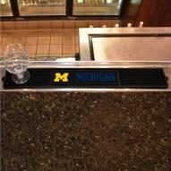 Michigan Wolverines Bar Mat