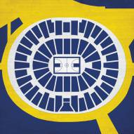 Michigan Wolverines Basketball Arena Print